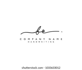 B C Initial handwriting logo