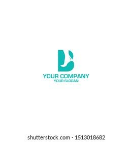 B Foot and Ankle Care Logo Design Vector