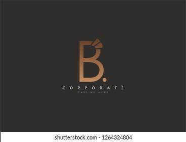 B Initial logo concept