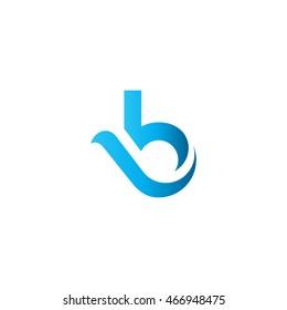 B Letter logo icon symbol