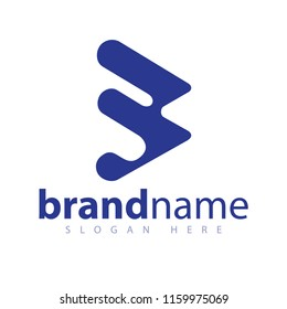 B Letter Logo Icon Vector