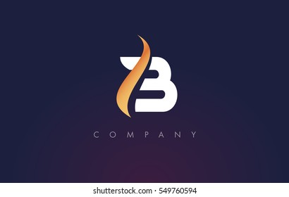 B Logo. B Letter Icon Design Vector Illustration.