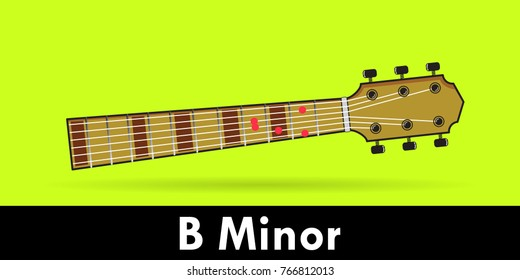 B Minor Chord Images, Stock Photos & Vectors | Shutterstock