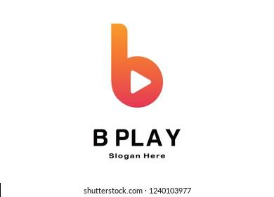 B PLAY LOGO DESIGN
