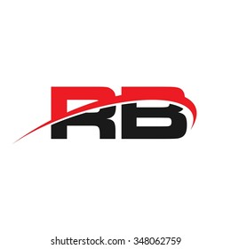 b and r logo vector.