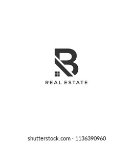 B real estate logo