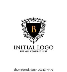 B Royal Classic Shield Logo icon