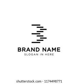 B strip line logo template