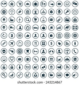 B2B Icons Vector set