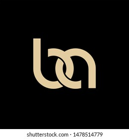 BA logo design. Vector illustration.