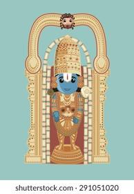 Baala Ji Venkateswara - Cartoon God
