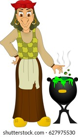 Baba yaga witch