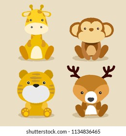 Baby Animal Collection : Vector Illustration