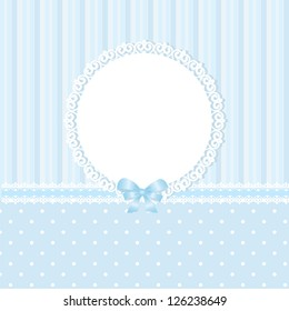 Baby blue vector background