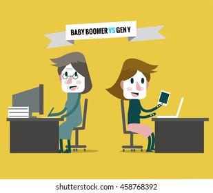Baby Boomer Cartoons Images, Stock Photos & Vectors ...