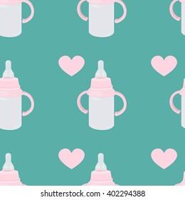 Baby bottle pattern