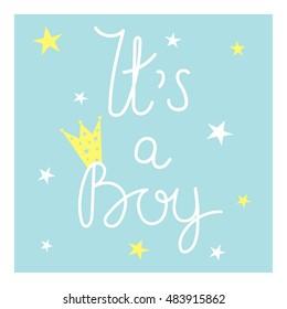 Imágenes Fotos De Stock Y Vectores Sobre Its A Boy Card