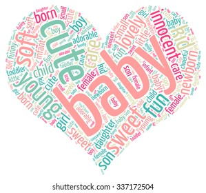 Baby Concept Word Cloud