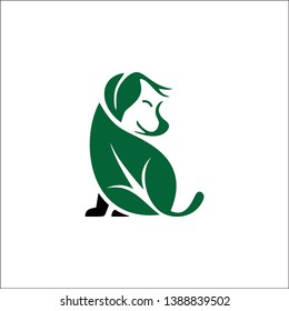 Baby Dog Grooming Products company logo vector icon natural beauty