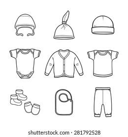 Baby fashion clothing fashion vector shirt illustration design wear art