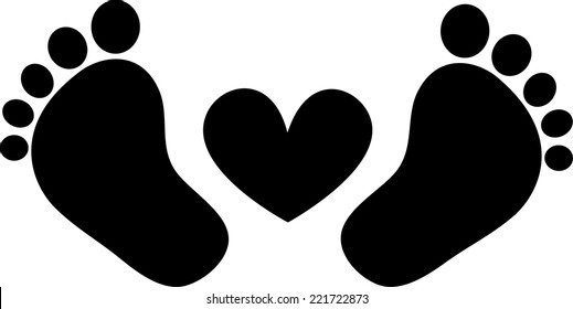 baby feet images  stock photos   vectors shutterstock heart vector file heart vector file