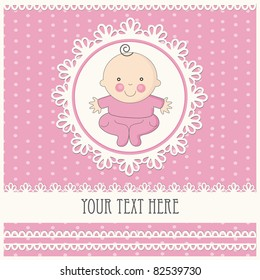 royalty free baby girl announcement images stock photos vectors
