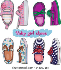 690c2e04266e Shoes Baby Stock Vectors