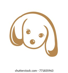 Golden Retriever Puppy Isolated Stock Vectors Images Vector Art