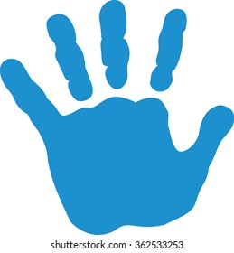 photograph relating to Printable Handprints titled Child Hand Print Pictures, Inventory Shots Vectors Shutterstock