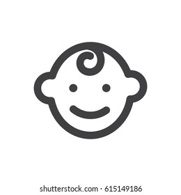 baby icon symbol vector