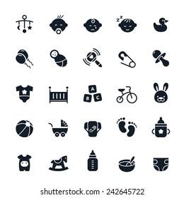 Baby icon Vector illustration