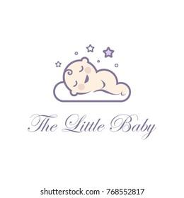 baby logo vector.eps