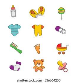 Baby Shop icon vector illustration