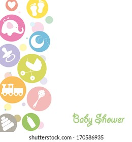 Baby Shower Background Images Stock Photos Vectors
