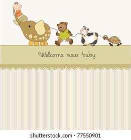 baby shower announcement