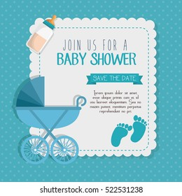 Baby shower invitation images stock photos vectors shutterstock baby shower invitation card filmwisefo