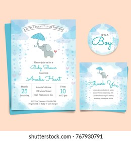 Royalty Free Baby Shower Invitation Stock Images Photos