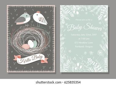 Imágenes Fotos De Stock Y Vectores Sobre Tarjetas Baby