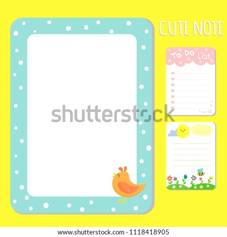 Baby Shower Invitations Cards Vector Note Stock Vector Royalty Free