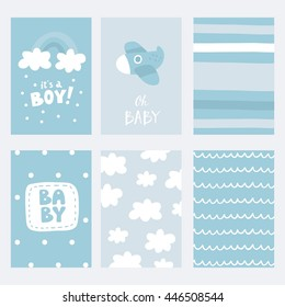 Baby Shower vector print