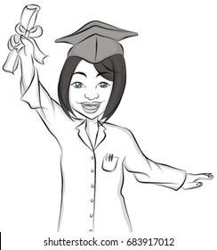 baccalaureate woman