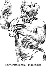 Bacchus with a bowl