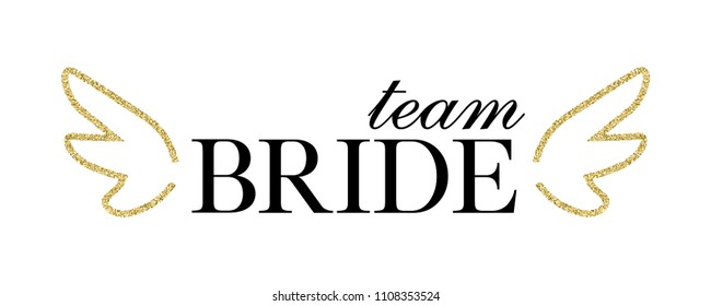 Bachelorette party, hen party or bridal shower hand written calligraphy card, banner or poster graphic design lettering vector element.