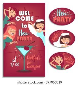 Bachelorette party. Women