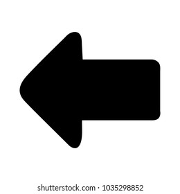 back arrow symbol