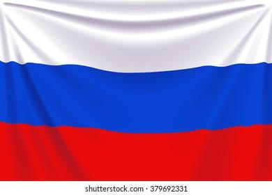 back flag russia