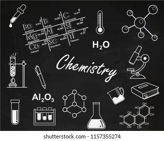 Back to school. chemistry lesson