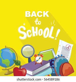 Back to School Colorful Poster