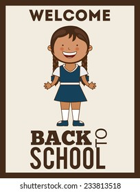 back to school design , vector illustration