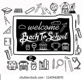 back to school, icon vector